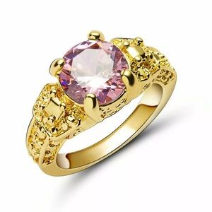 BRAND NEW 1CT PINK SAPPHIRE RING BY ROSS-SIMMONS